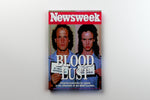 "NEWSWEEK NATURAL BORN KILLERS PRINT ON 11"" X 14"" CANVAS - Old Skool Shirts"