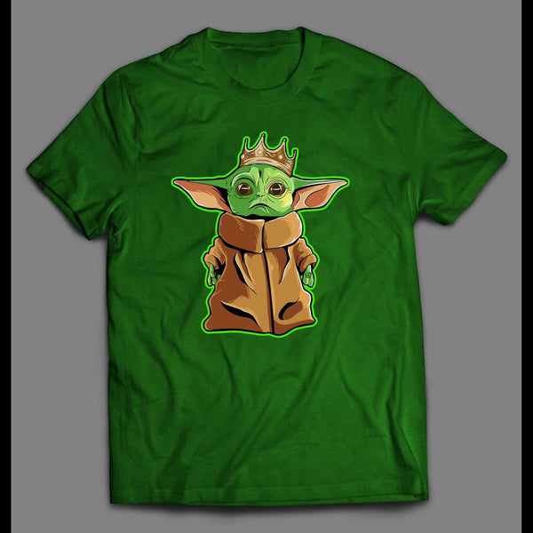 THE NOTORIOUS STAR BABY ALIEN SPACE MOVIE PARODY QUALITY T-SHIRT