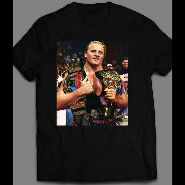 INTERCONTINENTAL CHAMP OWEN HART VINTAGE WRESTLING SHIRT - Old Skool Shirts