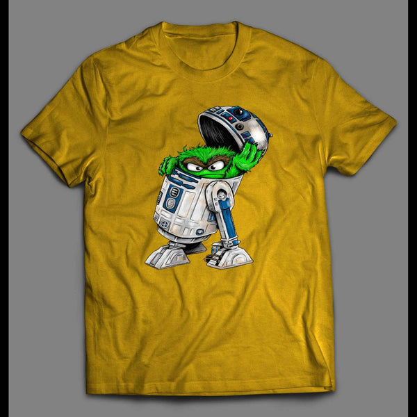 SCRAM D2 ROBOT TRASH CAN SHIRT - Old Skool Shirts