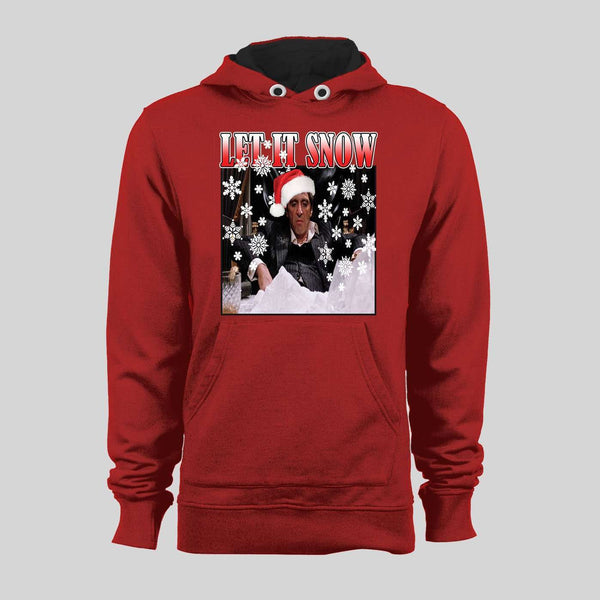 "SCARFACE, TONY MONTANA ""LET IT SNOW"" HOODIE/SWEATER"