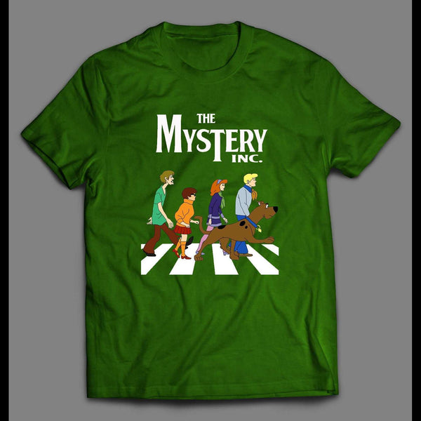 THE MYSTERY INC SCOOBY DOO ABBEY ROAD PARODY T-SHIRT