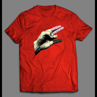 HAND SHOCKER ADULT HUMOR SHIRT