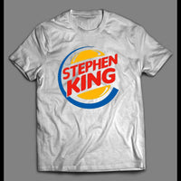 STEPHEN KING FAST FOOD LOGO PARODY SHIRT - Old Skool Shirts