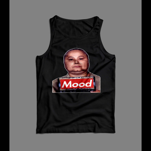 THE GODMOTHER GRISELDA BLANCO MUGSHOT MEN'S TANK TOP