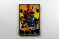 "WEST COAST HIP HOP ARTIST PAINTING 11"" X 14"" CANVAS - Old Skool Shirts"