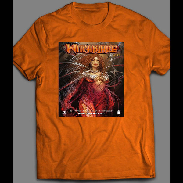 IMAGE COMICS WITCHBLADE VARIANT COMIC BOOK FRONT COVER SHIRT - Old Skool Shirts
