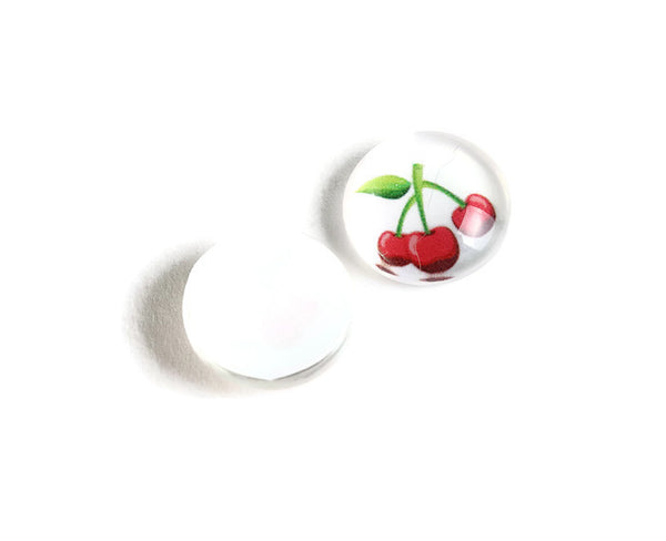 12mm Cherry cabochons