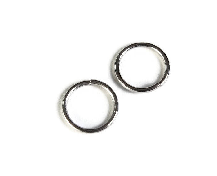 10mm stainless steel jumprings