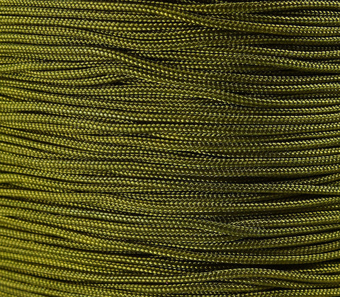1mm dark olive green nylon cord