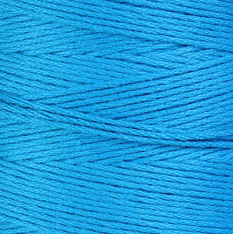 1mm Turquoise blue cotton cord - 10 feet (867)