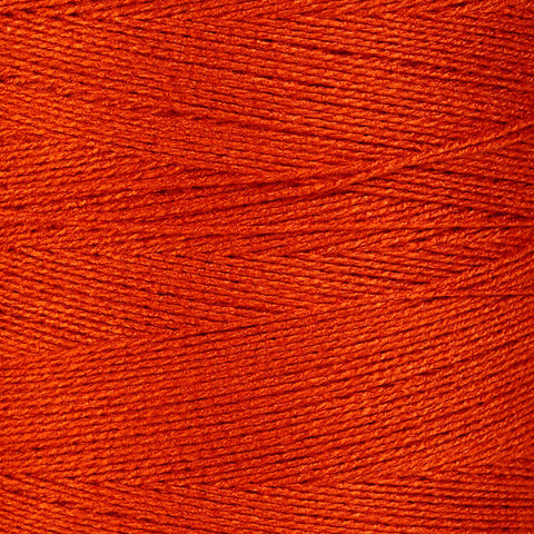 0.5mm Orange bamboo cord - twisted thread - Bamboo Cord - Macrame Cord - Bamboo thread (870)