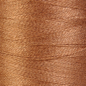 0.5mm Bronze brown bamboo cord - twisted thread - macrame cord - Bamboo macrame cord (872)