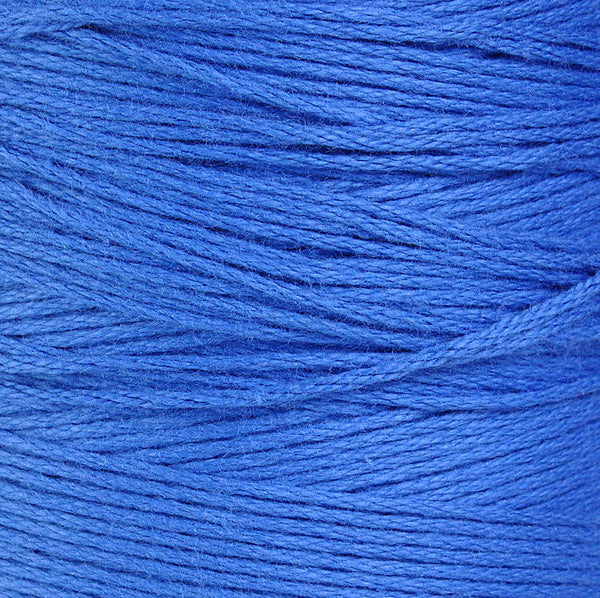 1mm Blue cotton cord - 1mm twisted thread - 10 feet (875)