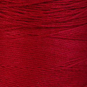 1mm Red cotton cord - 1mm raspberry cotton cord - Red twisted thread - 10 feet (879)