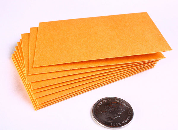 Kraft paper mini envelopes - 2 1/4 x 3 1/2 inches - 10 pieces (1083)