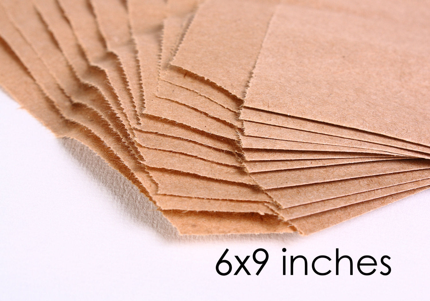 Kraft paper bags - 6 x 9 inches - 15 bags (1161)