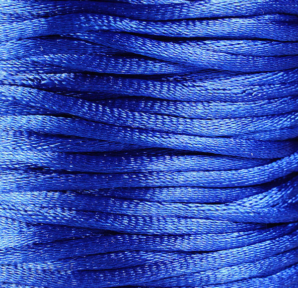 2mm Blue Nylon thread cord - 10 feet (R011)
