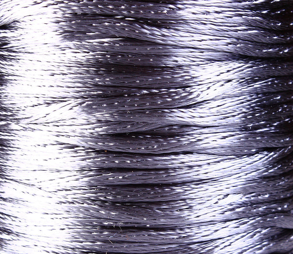 2mm grey nylon thread cord - 2mm gray nylon cord - 2mm grey thread - 10 feet (R020)