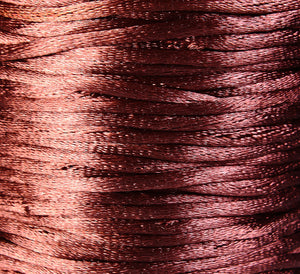 2mm Coconut brown Nylon thread cord - 10 feet (R019)