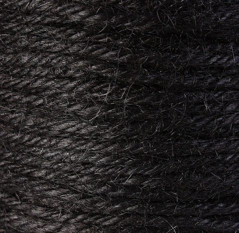 2mm Black colored Hemp Cord - Packaging string - Macrame hemp cord - Hemp thread (1433)