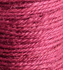 2mm raspberry pink colored Hemp Cord - 10 feet - Packaging string - Macrame hemp cord - Hemp thread (1439)