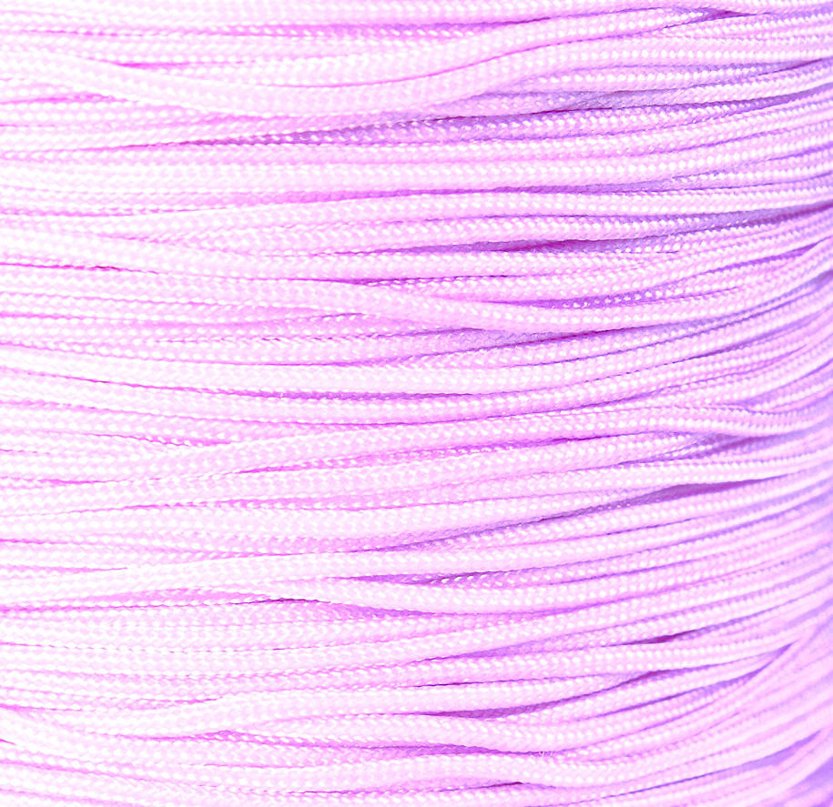 1mm lilac violet nylon cord - nylon thread - chineese Knotting Cord - Macrame thread - 10 feet (1446)
