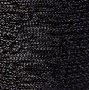 1mm Black nylon cord - nylon thread - chineese Knotting Cord - Macrame thread - 10 feet (1450)