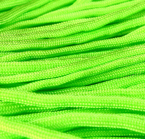 4mm green parachute cord - rope - Paracord - Para cord - 10 feet / 3 meters / 3.33 yards (1456)