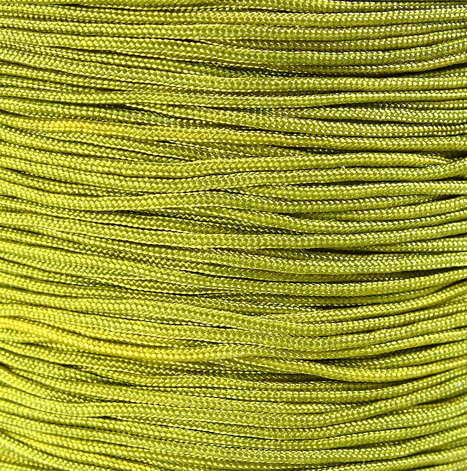 1mm green olive nylon cord - nylon thread - chineese Knotting Cord - Macrame thread - 10 feet (1484)