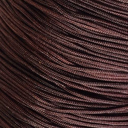 1mm coconut brown nylon cord - chineese Knotting Cord - Macrame thread - 10 feet (1487)