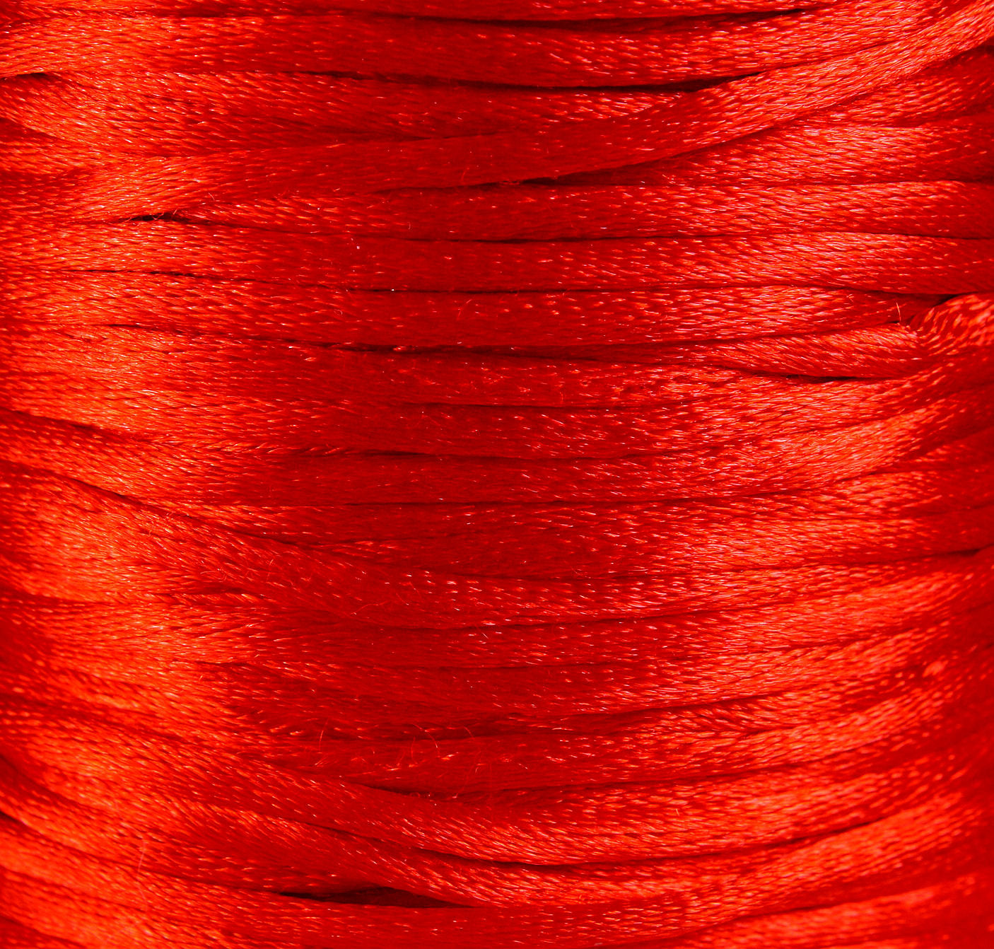 2mm red nylon thread cord - Knotting cord - Thick nylon thread - Nylon satin cord - Macrame cord - 10 feet (R028)
