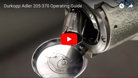 Durkopp Adler 205-370 Operating Guide