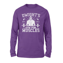 Load image into Gallery viewer, Dwight's Gym Standard Sleeve