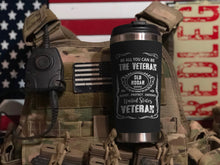 Load image into Gallery viewer, Old Hooah Brand Veteran Tumbler 2019