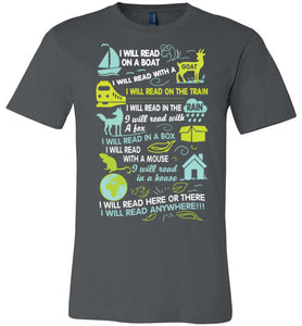I WILL READ T-SHIRT