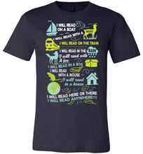 Load image into Gallery viewer, I WILL READ T-SHIRT