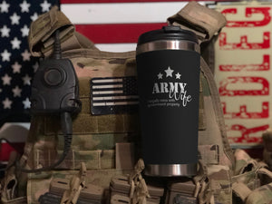 Army Wife Veteran Tumbler 2019