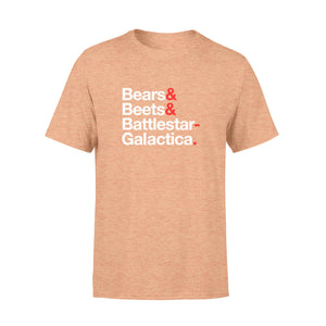 FOAL14 The Office T-Shirt, Bears&Beets&BG, Adult Unisex, Size XS-4XL