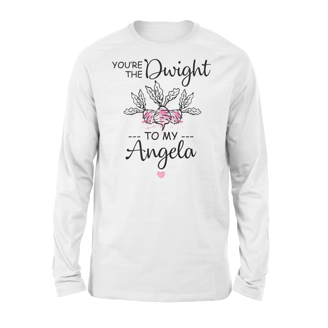 FOAL14 The Office Premium Sleeve, The Dwight to My Angela, Adult Unisex, Size S-2XL