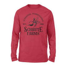 Load image into Gallery viewer, FOAL14 The Office Premium Sleeve, Schrute Farms, Adult Unisex, Size S-2XL