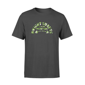 FOAL14 The Office T-Shirt, Dwight's Gym For Muscles 2, Adult Unisex, Size XS-4XL