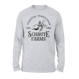 FOAL14 The Office Premium Sleeve, Schrute Farms, Adult Unisex, Size S-2XL