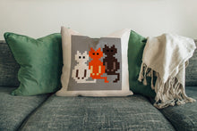 Load image into Gallery viewer, FOAL14 The Office Pillow, The Triple Cats, Polyester, Size S-L