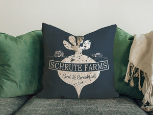 FOAL14 The Office Pillow, Schrute Farms Office, Polyester, Size S-L