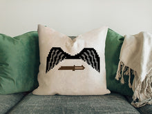 Load image into Gallery viewer, Wings And Knife Of 15 Years Anniversary Pillow 2019