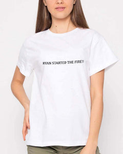 FOAL14 The Office T-Shirt, Ryan Started Fire, Adult Unisex, Size XS-4XL
