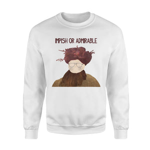 FOAL14 The Office Sweatshirt, Impish Or Admirable, Adult Unisex, Size S-5XL