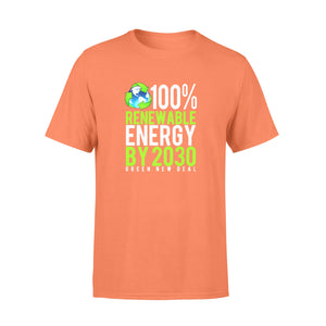 Renewable Energy By 2030 Premium T-shirt