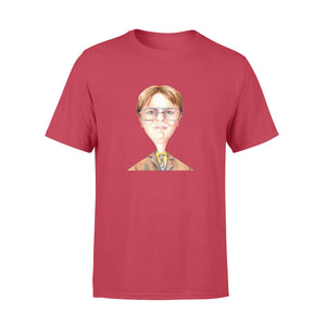FOAL14 The Office T-Shirt, Portrait Of Dwight, Adult Unisex, Size XS-4XL